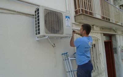 Τοποθέτηση κλιματιστικής μονάδας οικιακής χρήσης