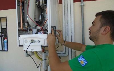 Aντικατάσταση συμβατικού λέβητα φυσικού αερίου με τον κορυφαίο συμπύκνωσης Unical KONe