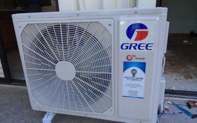 Εγκατάσταση κλιματιστικής μονάδας Gree