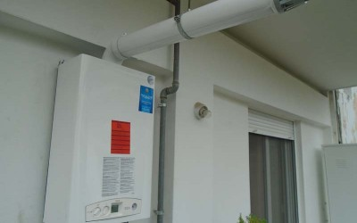 Εγκατάσταση Λέβητα Αερίου Unical !dea Plus