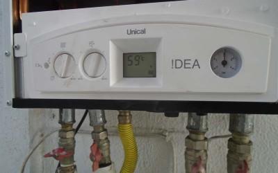Αντικατάσταση Παλιού Λέβητα Αερίου με Unical