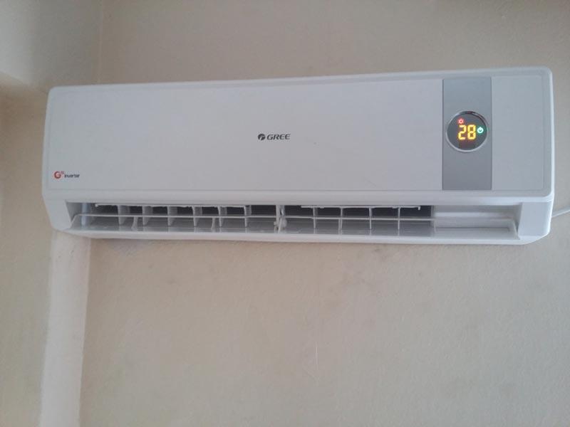 Εγκατάσταση Κλιματιστικού Gree Cozy Inverter