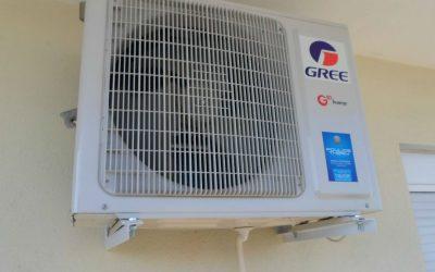 τοποθετηση κλιματιστικου GREE COZY INVERTER 12000btu