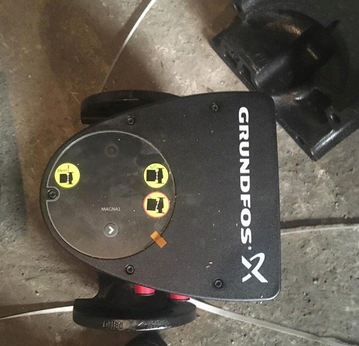 Αντικατάσταση κυκλοφορητη με τον inverter Magna της Grundfos