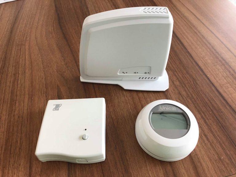 Unical θερμοστατης με wi-fi