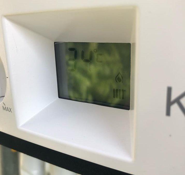 Αντικατασταση λέβητα αερίου με Unical KON