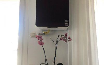 Unical KON1-Εσωτερικη εγκατασταση του λέβητα